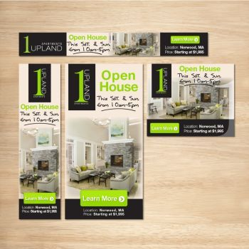 Modern banner for Real Estate by artblade477