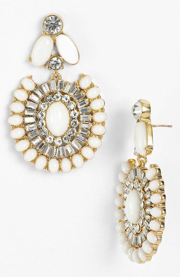 Kate Spade Capri Garden Drop Earrings: Drop Earrings, Statement Drop, Jewelry Accessories, Earrings Necklaces Bracelets R, Capri Gardens, New York, Spade Capri, Kate Spade, Gardens Drop