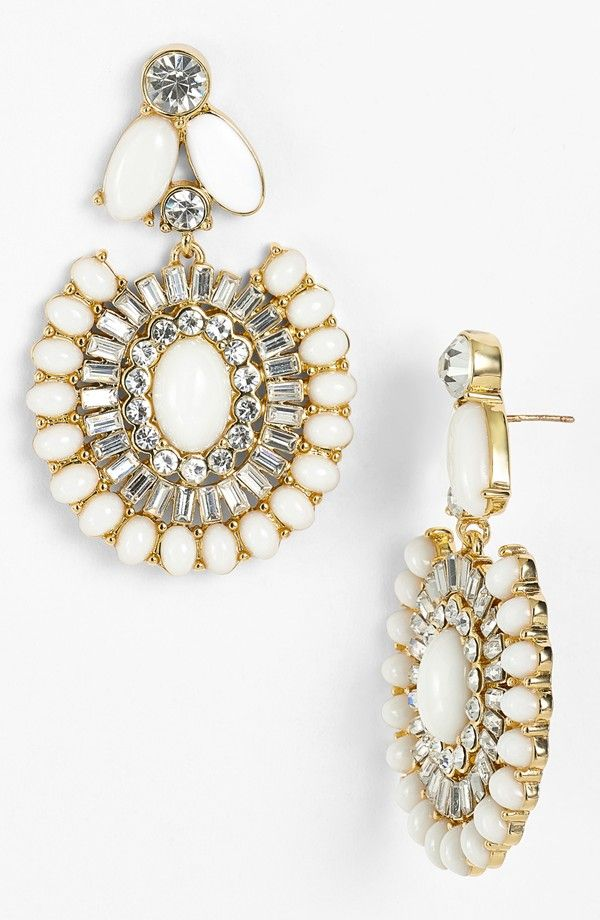 Kate Spade Capri Garden Drop EarringsHair Fashion, Drop Earrings, Jewelry, Capri Gardens, New York, Spade Capri, Kate Spade, Fashion Stuff, Gardens Drop