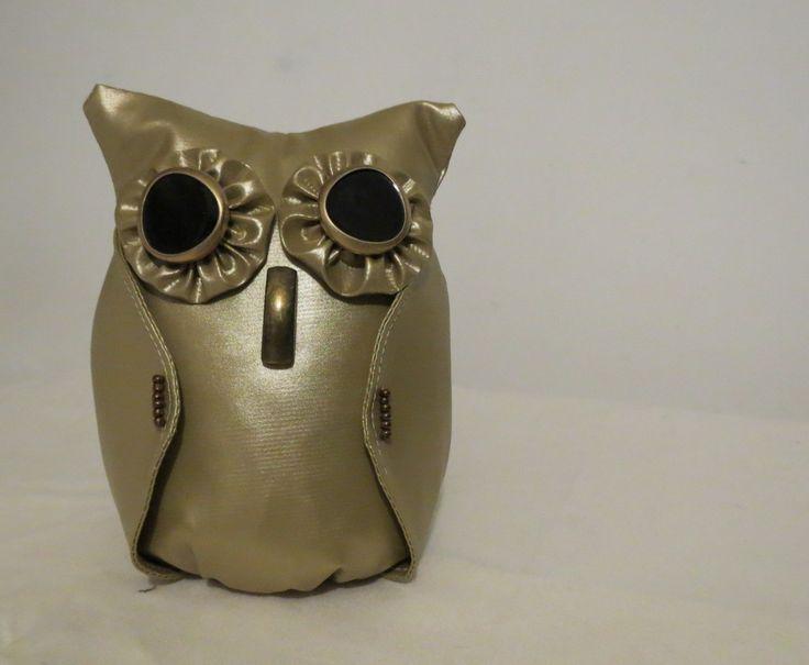 Coruja para Peso de Porta. Owl for Door Weight.