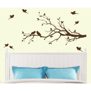 like it Amazoncom Tree Branch with 10 birds Wall Decals Sticker Nursery Decor Art Mural - IN DARK BROWN Everything Else: Dark Brown, 10 Birds, Trees Branches, Stickers Nurseries, Bird Wall Decals, Tree Branches, Birds Wall Decals, Wall Decals Stickers, Decor Art