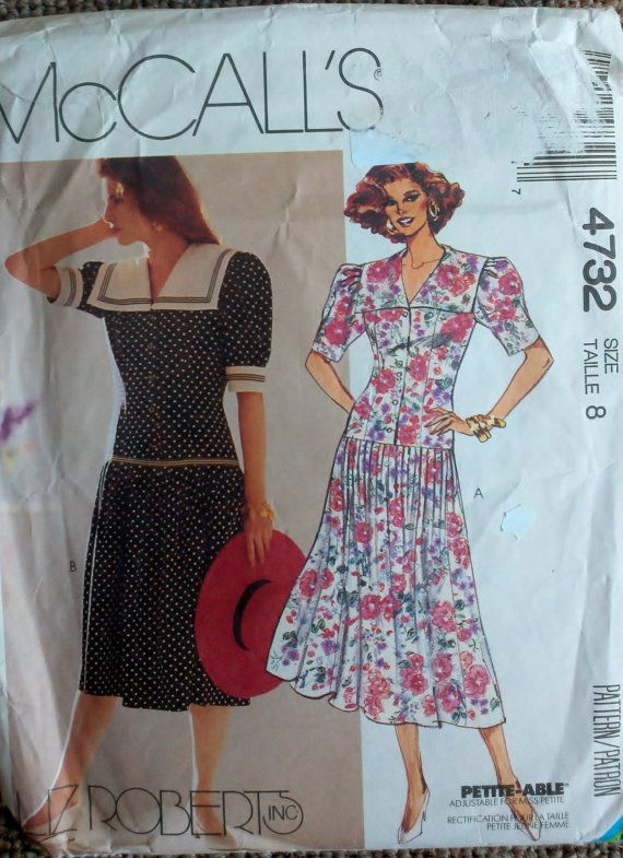 McCall's 4732 Womens Sewing Pattern Dropped by Sutlerssundries, $5.00