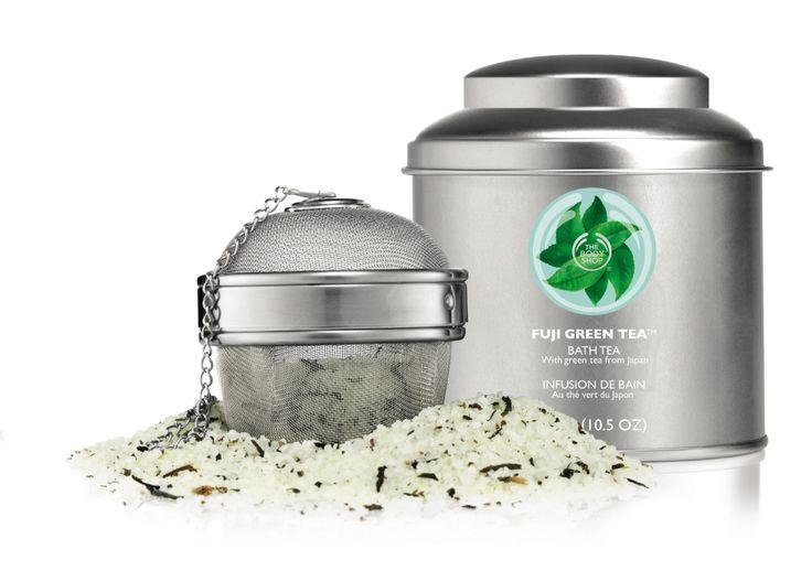 Fuji Green Tea herbata do kąpieli