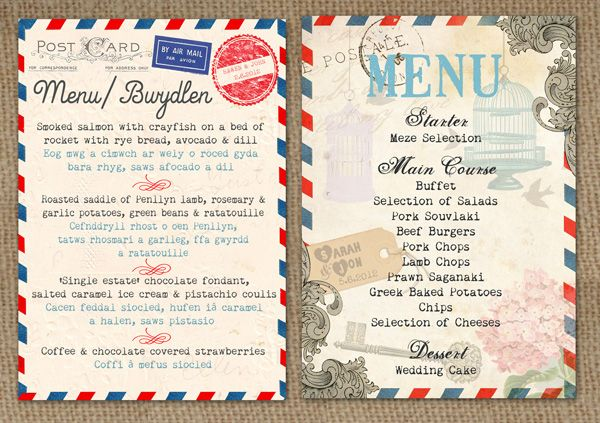 Google-prentresultaat vir http://www.inthetreehouse.co.uk/wp-content/uploads/2011/03/AIRMAIL-LOVE-STORY-AND-VINTAGE-POSTCARD-WEDDING-MENUS-BY-IN-THE-TREEHOUSE1.jpg