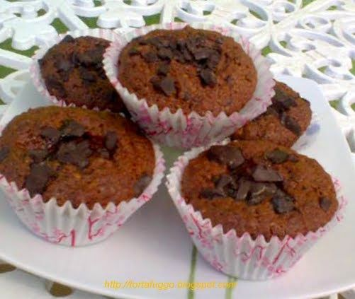 Tortafüggő Marisz: Zserbó muffin