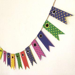 【簡単】折り紙で「子供の日」こいのぼりガーランド