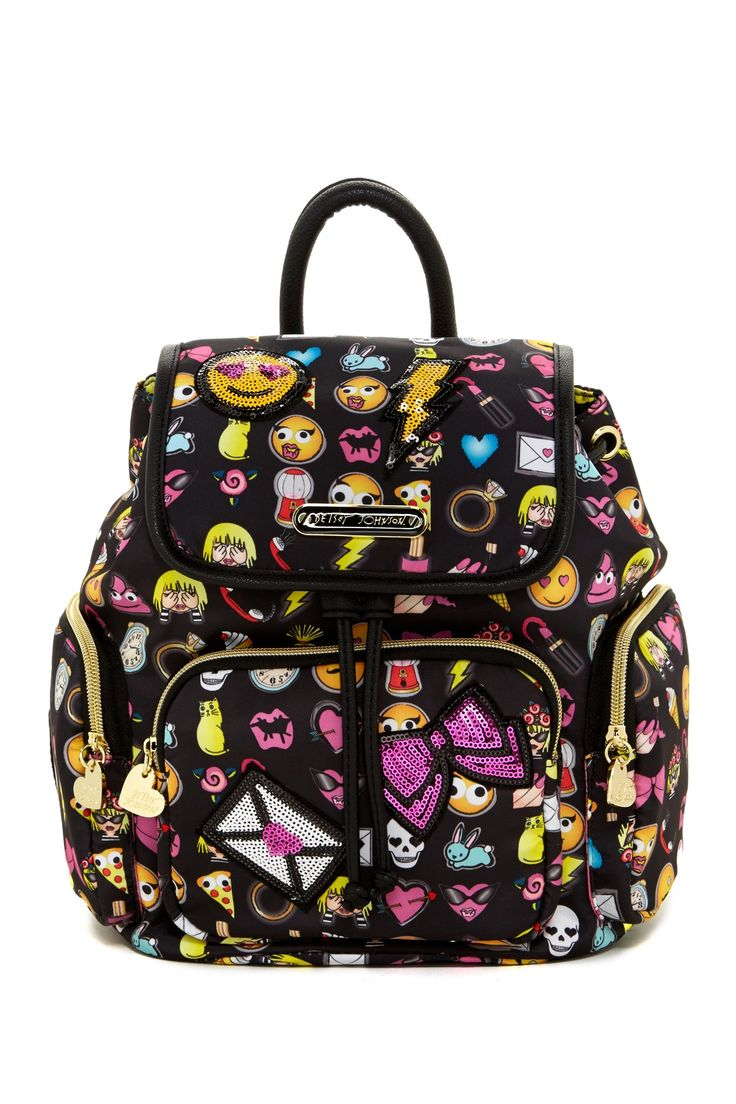 Betsey Johnson | Betsey Con Emoji Backpack | Nordstrom Rack