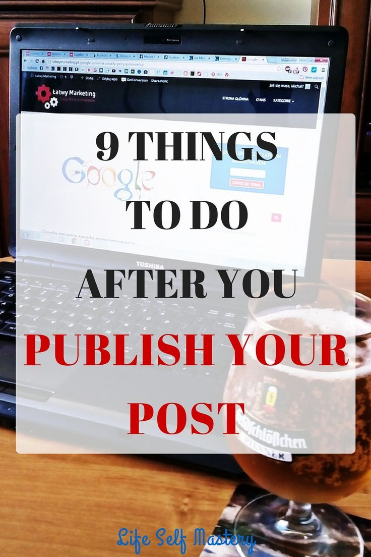 If you have published a great content, you need to do lot more things to send your message across. Click through to know more!
