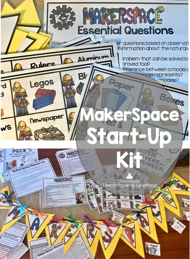 How To Organize And Label Your Makerspace First Grade