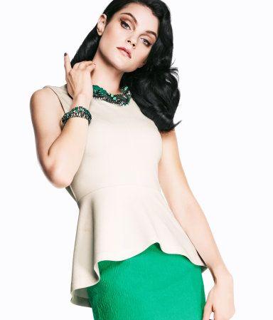 35 Peplum, Peplum Tops, Style, Fashionista, Offices Attire, Fabulous Fashion, Jessica Stam, Tops Peplum, Wear