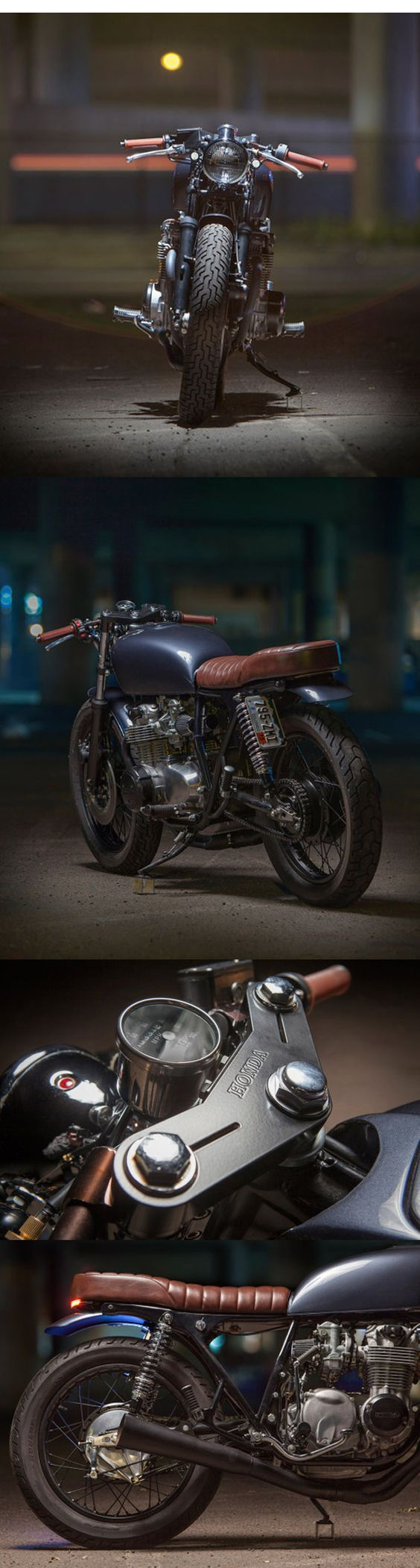 Backyard build: Dave Lehl's Honda CB550 motofanatics.blog...