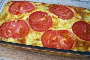 Фото к рецепту: Фриттата из кабачков, нереально вкусная!