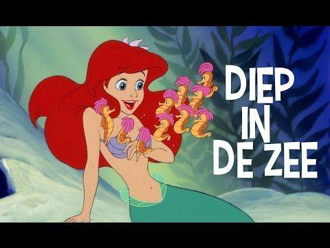De Kleine Zeemeermin | Liedje: Diep In De Zee | Disney BE - YouTube