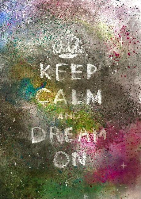 Dream On (while listening to Aerosmith)
