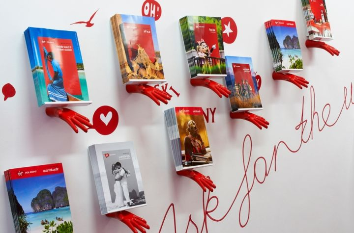 Virgin Holidays flagship store by officeTwelve London