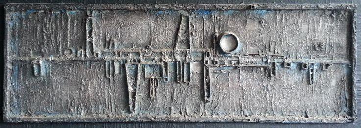 Arthur Dagley - Shoreline No. 3 (resin, metal and wood)