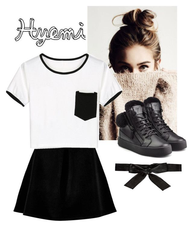 """""""fleur 4"""" by carameldazzle on Polyvore featuring Boohoo, WithChic, Giuseppe Zanotti and Alice + Olivia"""