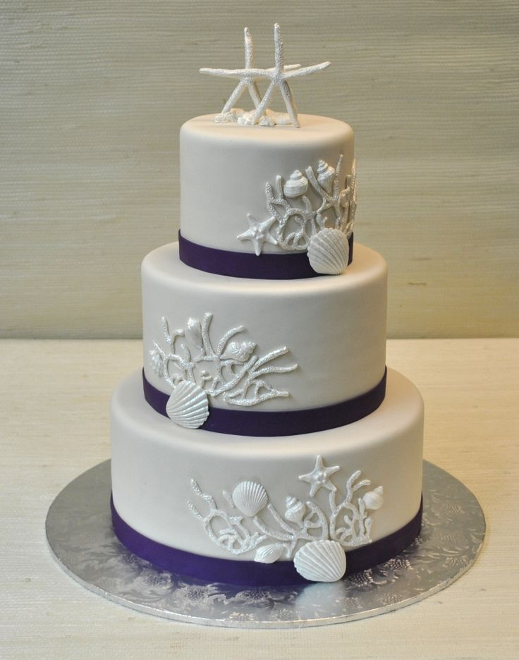 elegant beach themed wedding cakes 17 best images about and theme wedding cakes 13956