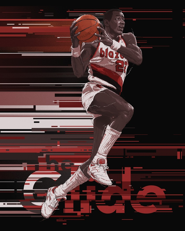 Blazers Portland Posters: 23 Best Images About RareInk, Official Art Of The NBA On