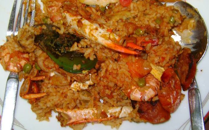 ... Baked Seafood Paella: http://recipe.land/2014/03/13/oven-baked-seafood