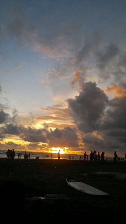 Parangtritis beach, yogyakarta...