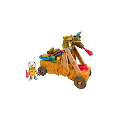Fisher Price Imaginext SpongeBob Man Ray ; Hot Rod, Multicolor