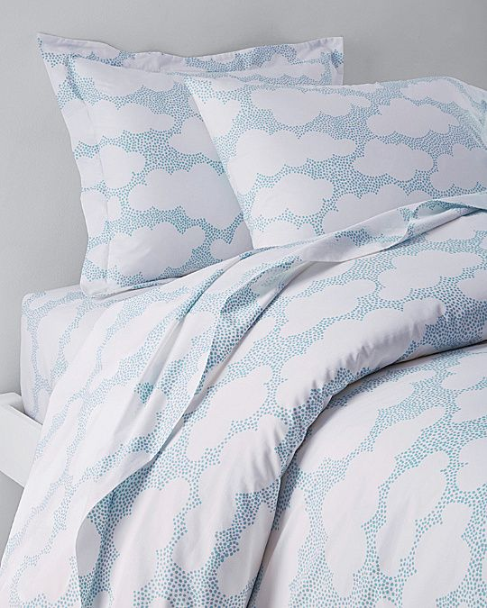 Clouds Percale Bedding