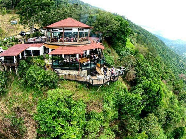 Aroma de la montaña restaurant, Jarabacoa, Dominican ...