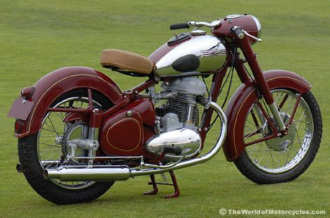 1952 Jawa Model 15 500cc Twin