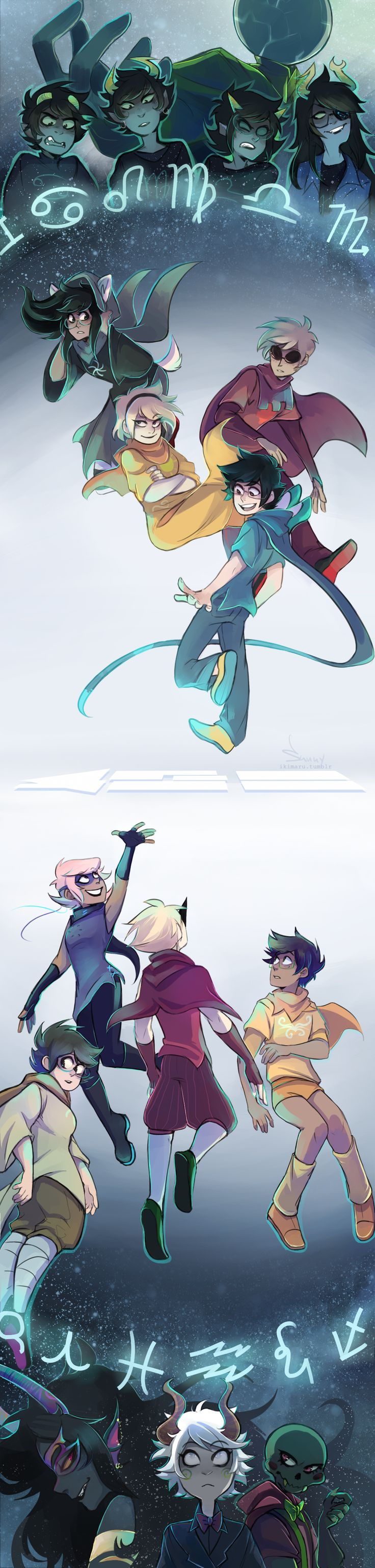 413_2015 - and so I guess here we are this year too 8′) Art by http://ikimaru.tumblr.com/