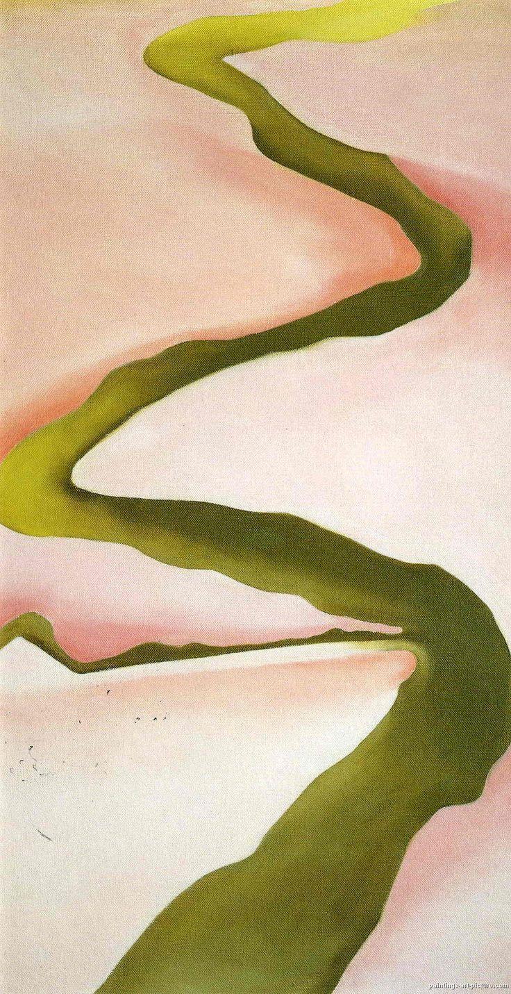 Watercolor art history - Georgia O Keeffe Paintings Art A Favorite Of Mine
