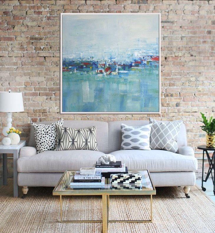 Abstrakte Malerei, Original-Kunstwerke, abstrakte Gemälde, moderne Kunst, zeitgenössische seelandschaft, blau grün rot von Artzaro auf Etsy https://www.etsy.com/de/listing/240665766/abstrakte-malerei-original-kunstwerke