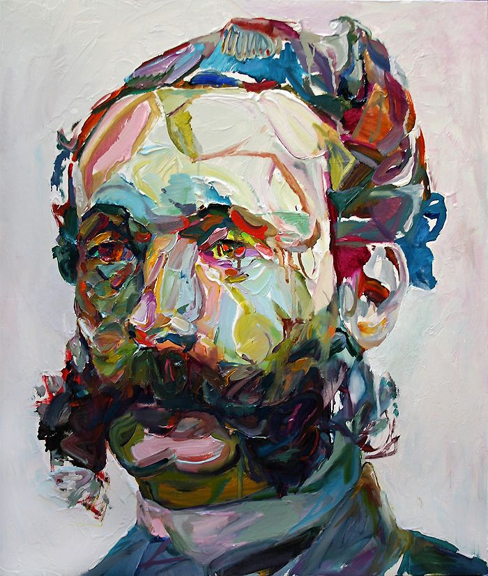 Smith uses thick applications of colorful paint in his pieces creating a wonderful layers in his portraits. Description from pinterest.com. I searched for this on bing.com/images
