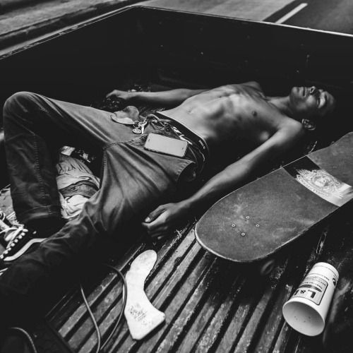 """szanella: """"Let it Raw. On of my best memories from my latest trip in #hawaii ( shot last week ) was hanging on the back of the truck of @saltyeyesofapirate with this guy @evanmock , an looking for random spot around #honolulu . Feeling adolescent..."""