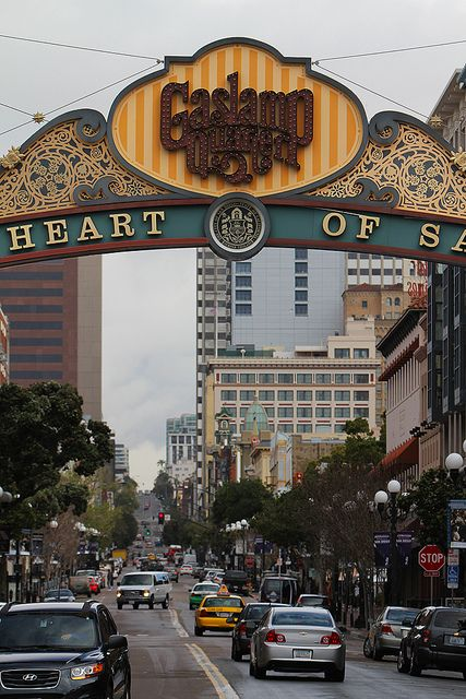 Gaslamp Sign San Diego...heading there for the anniversary in December!