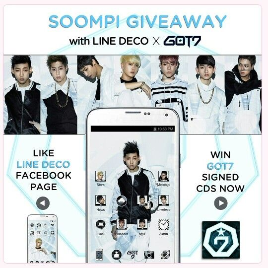 @soompi is giving away 5 #GOT7 signed CDs! Find out how you can win here ~> http://t.co/gKEGQ8d44Z #kpop http://t.co/K0RtjTIVhM