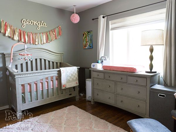 Inside Christine Lakin S Daughter Southern Style Nursery It Definitely A Room That Will Grow With Her