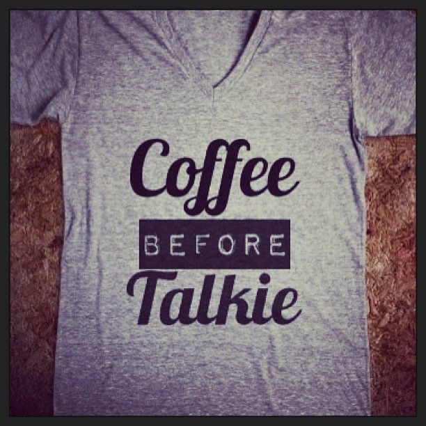 I should get one of these to wear because this is exactly how I feel in the morning!