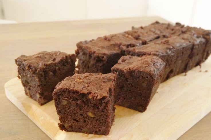 Courgette brownie - Dayenne's Foodblog - paleo, glutenvrij, suikervrij en zuivelvrij