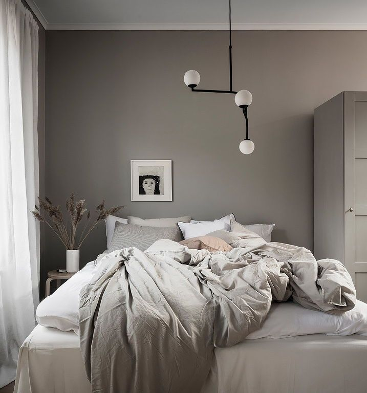 Greige Home With A Blue Kitchen Coco Lapine Design Home Decor Bedroom Bedroom Interior Apartment Decor