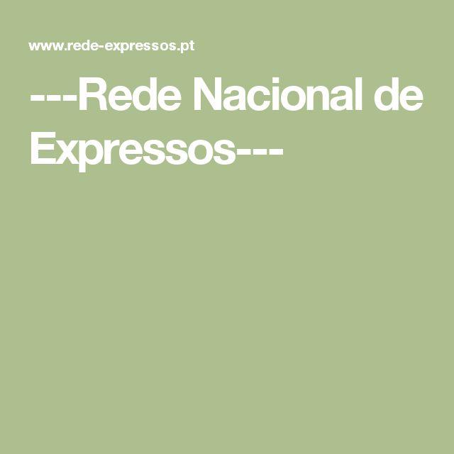 ---Rede Nacional de Expressos---