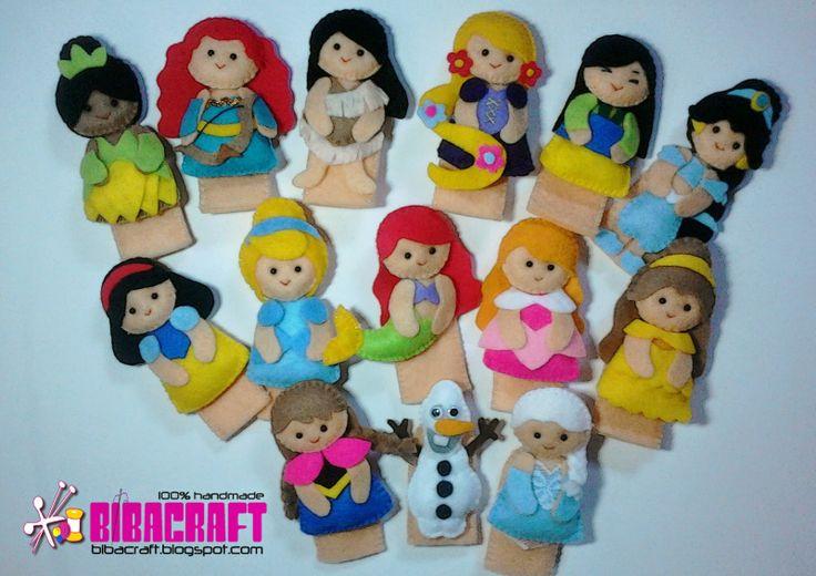Finger Puppet-Disney Princess series