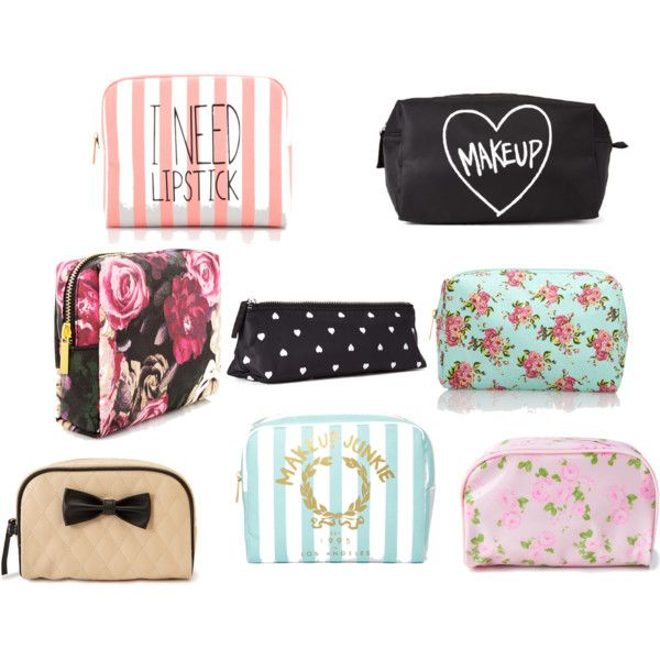 """""""Forever 21 makeup cases"""" by gracemeihaus on Polyvore"""