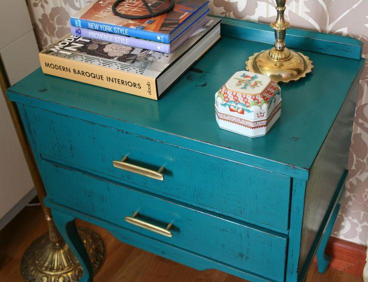 Mi nueva mesa auxiliar vintage [] My new vintage sidetable