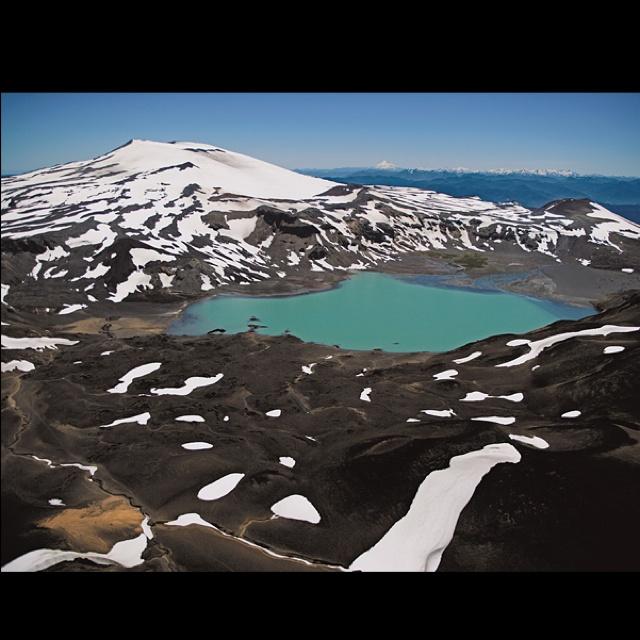 Quetrupillan volcano, Pucon, Chile