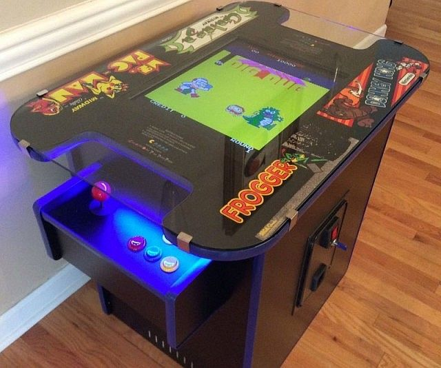 Arcade Cocktail Table | Arcade table, Coffee table arcade