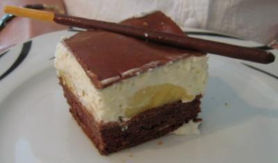 Rezept Bananen Schoko Torte