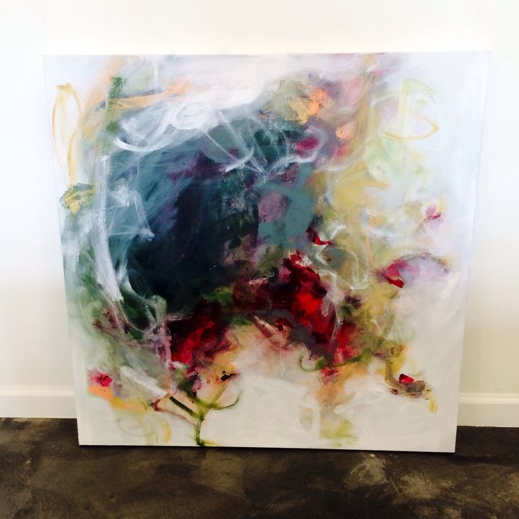 Abstract painting by Brittany Lee Howard