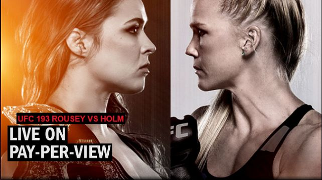 Watch UFC 193: Rousey vs. Holm 11/14/2015 14th November 2015 (14/11/2015) Full Show Online Free Watch UFC 193: Ronda Rousey vs Holly Holm 11/14/2015 - 14th November 2015 Live stream Watch Online (Li