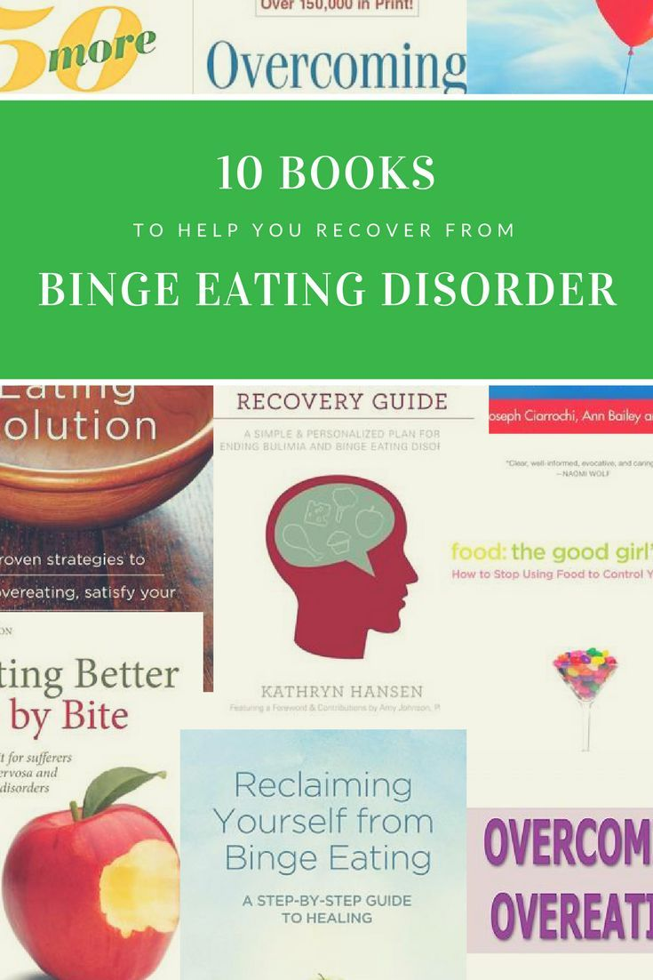 Books to help you recover from binge eating disorder